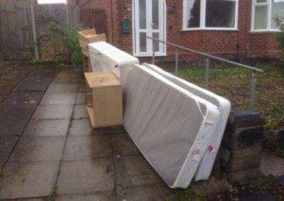 House clearance birmingham driveway before