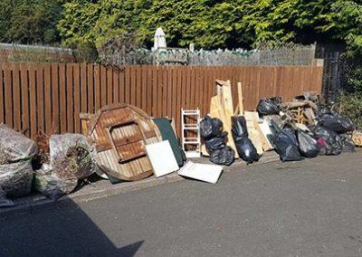 rubbish removal birmingham before