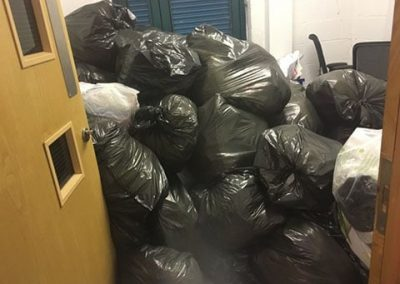 lots of office rubbish