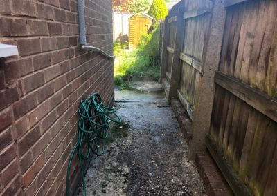 alleyway clearance birmingham after