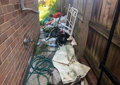 alleyway rubbish