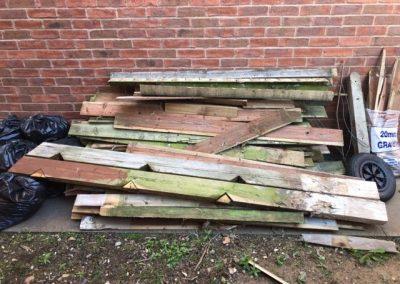 wood clearance